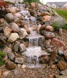 Just-A-Falls Pondless Waterfall Kit - Small