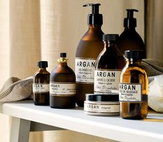 Moroccan Argan Oil:   Nature's weapon against dry, inflamed and lack luster skin.