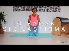 İç ve Üst Bacak Egzersizleri - Melis Yengil - YouTube