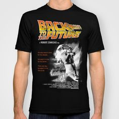 Back to The Future 2 Colors T-shirt by Universo do Sofa - Artes & Etecetera | Society6