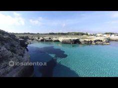 Salento  Roca Vecchia (Melendugno) e la Grotta della Poesia nel Salento - YouTube