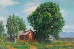 "Gallery - Buck Paulson Art - ""the Buck..."" paints here!"