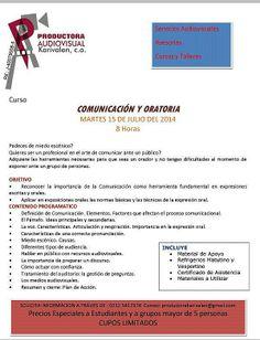 #oratoria #comunicación CURSO COMUNICACIÓN Y ORATORIA  * 15 de julio del 2014 * Caracas * + 58 (212) 541.7374 / (0424) 122.2371  * Twitter: @mariorivasp