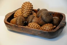 Carved Pinecone Accessory