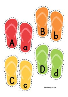 Summer Literacy Centers for Kindergarten. Upper and lower case letter flip flip … Summer Literacy Centers for Kindergarten. Upper and lower case letter flip flip matching activity. English Activities, Kids Learning Activities, Alphabet Activities, Toddler Activities, Kindergarten Centers, Literacy Centers, Preschool Printables, Preschool Worksheets, Montessori Materials