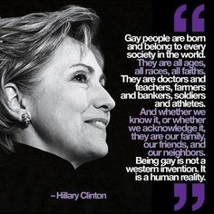 Hilary Clinton.