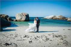 A stunning setting ... wedding at Boulders Beach in Simonstown, Cape Town