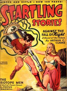 Startling Stories – Against The Fall of Night