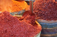 Spices in Istanbul.
