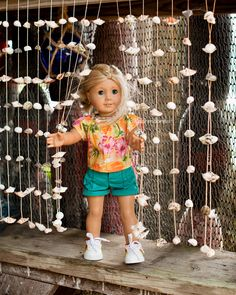 Dolly Dorm Diaries ~ Our American Girl Doll Blog Adventures : { The Old Gray House ~ aka The Shell Shop }
