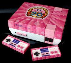 custom Kirby 20th anniversary NES by Zoki64.deviantart.com on @DeviantArt