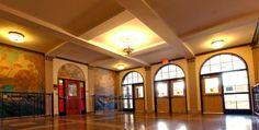 Western Hills High School front lobby