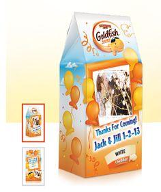 Goldfish Wedding Favors For Kids