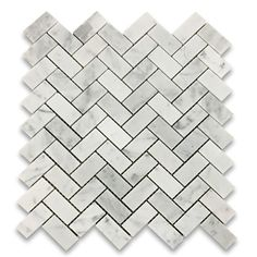 Carrara White 1x2 He