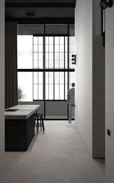 Kitchen - Loft in Avelgem Belgium by AD Office