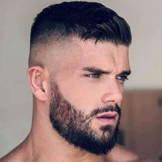 Trendy males quick coiffure - Beard Tips Beard Styles For Men, Hair And Beard Styles, Short Hair Styles Men, Faded Beard Styles, Hairstyles Haircuts, Haircuts For Men, Black Hairstyles, Short Hairstyles For Men, Beard And Hairstyles