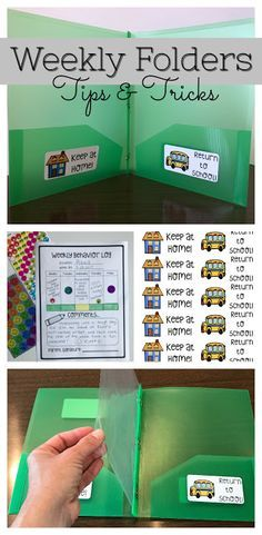 preschool classroom set up Take Home Folders/Homework Folders. Let's talk about how to set up, label, organize, and manage Take Home Folders. Getting my folders set up is always a huge priority during summer break. I NEVER wa First Grade Classroom, Future Classroom, Classroom Ideas, Setting Up A Classroom, Classroom Projects, Take Home Folders, Teacher Organization, First Grade Organization, Learning Organization
