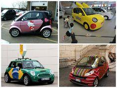 Carros não são objetos de decoração, mas ter um carro divertido até que seria legal.