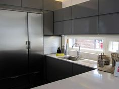 Windows in the kitchen