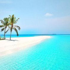 Bluest blue - Maldives. Photo by @TravellersPlanet