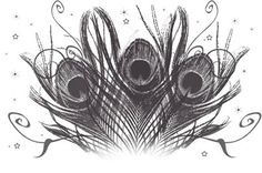 """I think this would make a perfect """"tramp stamp"""" AKA lower back tattoo...I would want it in full color and I would only get it after I reached my goal weight. It would tie in nicely with my frog tattoo coverup of a peacock feather too"""