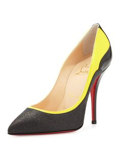 5a87800fa6a Shoe of the Day  Christian Louboutin Tucsy Glitter   Patent Red Sole Pump