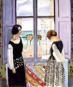 """artishardgr: """"Henri Matisse - Waiting 1922 """""""