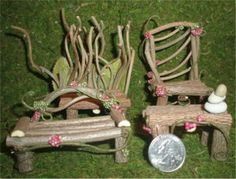 Fairy Furniture For Sale From Scarletts Fairy Garden LLC