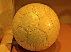 Hermès crocodile soccer ball
