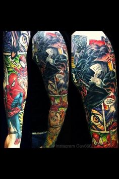 Rapturous Marvel Comics Tattoos To Marvel Comics TattoosExcellent Marvel Comics Tattoos 10 Marvelous Marvel Comic Tattoo Designs, Marvel Comics Tattoos The Best Tattoos Inspired By Marvel Comics And Mcu, … Marvel Tattoo Sleeve, Marvel Tattoos, Star Tattoos, Body Art Tattoos, New Tattoos, Tattoos For Guys, Cool Tattoos, Tatoos, Dc Tattoo