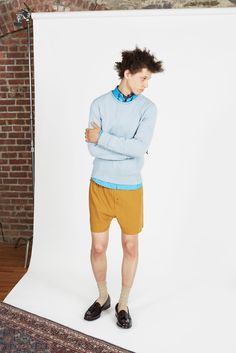 Orley Spring 2014 Menswear Fashion Show Latest Mens Fashion, Fashion News, Spring 2014, Spring Summer, Summer 2014, Mens Yellow Pants, Well Dressed Men, Men's Collection, Fashion Photo