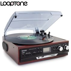 Cheap turntable phono, Buy Quality phono turntable directly from China lp turntable Suppliers: LoopTone Stereo Phono Players Turntable Vinyl LP Record Player With AM/FM Radio USB/SD Aux Cassette Recorder Headphone Jack Usb, Radios, Vinyl Lp, Stereo Speakers, Bluetooth Speakers, Digital Audio, Record Player, Smart Tv, Turntable