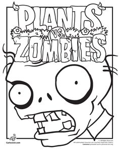 plants vs zombies coloring pages plants vs zombies coloring pages cartoon jr - Volcano Coloring Pages