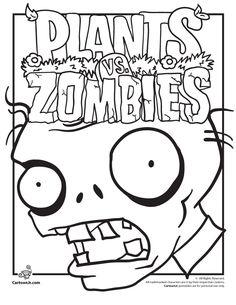 Plants Vs. Zombies Coloring Pages Plants Vs Zombies Coloring Pages – Cartoon Jr.