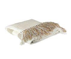Plaid de algodón Righe - 180x70 cm