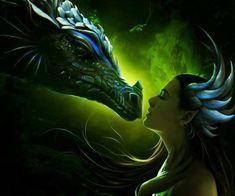 dragon and warrior girl - Cerca con Google
