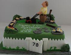 Gardeners birthday cake! by Pauls Creative Cakes, via Flickr