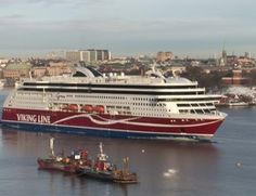 Viking Grace leaves Stockholm - CLICK ON THE PICTURE TO WATCH THE VIDEO