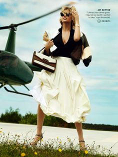 JET SETTER by mario testino for us vogue june 2013 | visual optimism; fashion editorials, shows, campaigns & more!