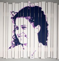 """""""Siblings series 2"""" - painted wooden panels, size 70x70, € 400,-"""