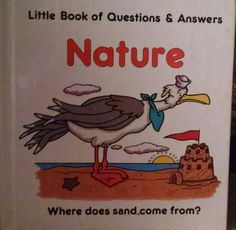 Teri Jones, nature, sun, sand, question and answer book, fact book, plants, animals