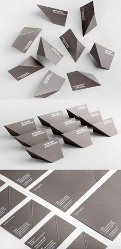 Maaemos unique restaurant business cardthis unique folding en este artculo te mostramos ideas originales para tus tarjetas de visita o presentacin reheart Choice Image