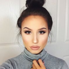 Her #contour and #highlight game is giving me life!