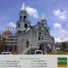 ILOILO w/ CITY TOUR minimum of 2 persons to travel For more inquiries please call: Landline: Phone: 918 238 9506 or E-mail. Philippines, Tours, Mansions, House Styles, Phone, City, Travel, Telephone, Viajes