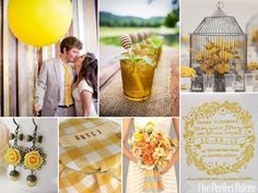 Sweet country soiree! http://www.theperfectpalette.com/2012/04/sweet-country-soiree-shades-of-yellow.html