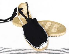 IBIZA Lace Up Espadrilles Organic Cotton Women by IBICENCAS  #espadrilles #flatshoes #hippie #sandals #shoes #urban #handmade #vegan #organic