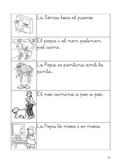Caaco dos 1314_mt0111_r1_lectura4_estel Catalan Language, Fails, Sheet Music, Math, School, Cl, Writing, Reading Comprehension, Speech Language Therapy