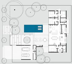 Laranjal House by Rmk! Architecture Plan, Residential Architecture, Contemporary Home Decor, House Layouts, Plan Design, Minimalist Home, House Floor Plans, Planer, Living Room Designs