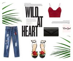 """""""Rosegal 77 : Cute outfit"""" by jasmina-fazlic ❤ liked on Polyvore featuring Balenciaga and Charlotte Olympia"""