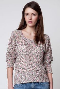 Rose Flossed Pullover
